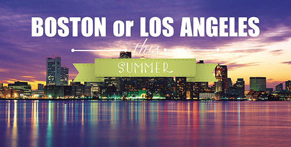 Du học hè tại Boston hay Los Angeles ?