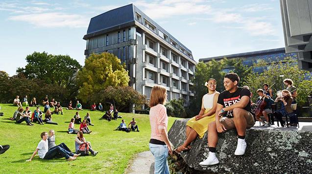Con đường liên thông trực tiếp lên Đại học Canterbury - New Zealand