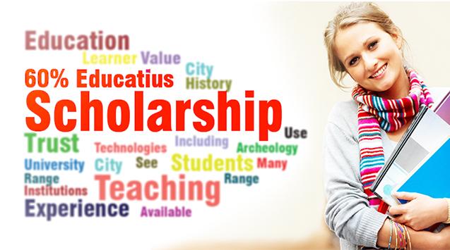 Học bổng 60% từ tập đoàn Educatius