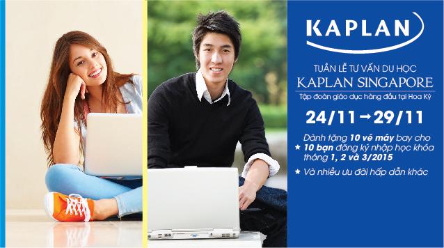 Tham gia tuần lễ tư vấn du học Kaplan Singapore