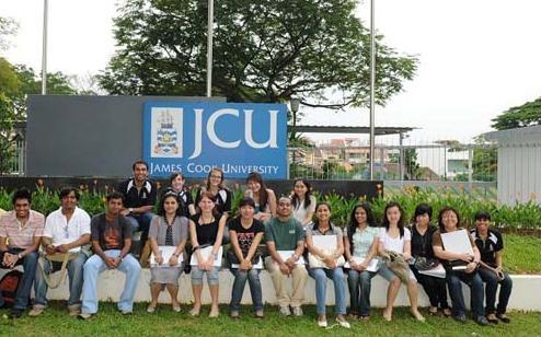 Tuần lễ tư vấn James Cook Singapore tại Western Education