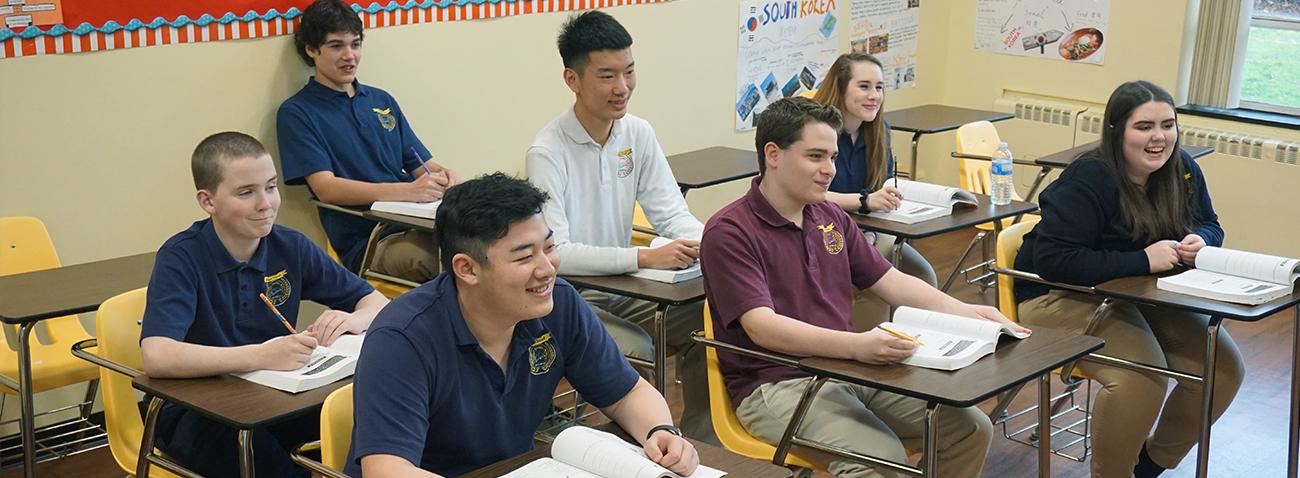 Trường trung học The Sappo School - Bang New York