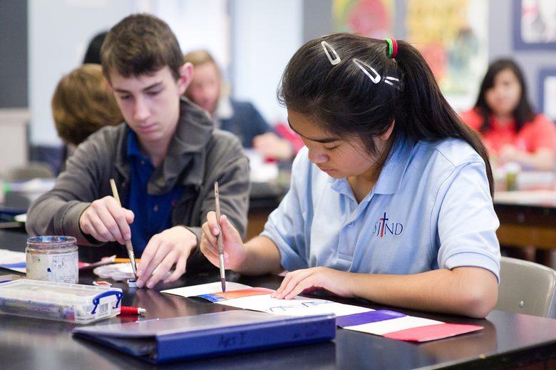 Trường trung học St.Joseph Notre Dame High School - Bang California
