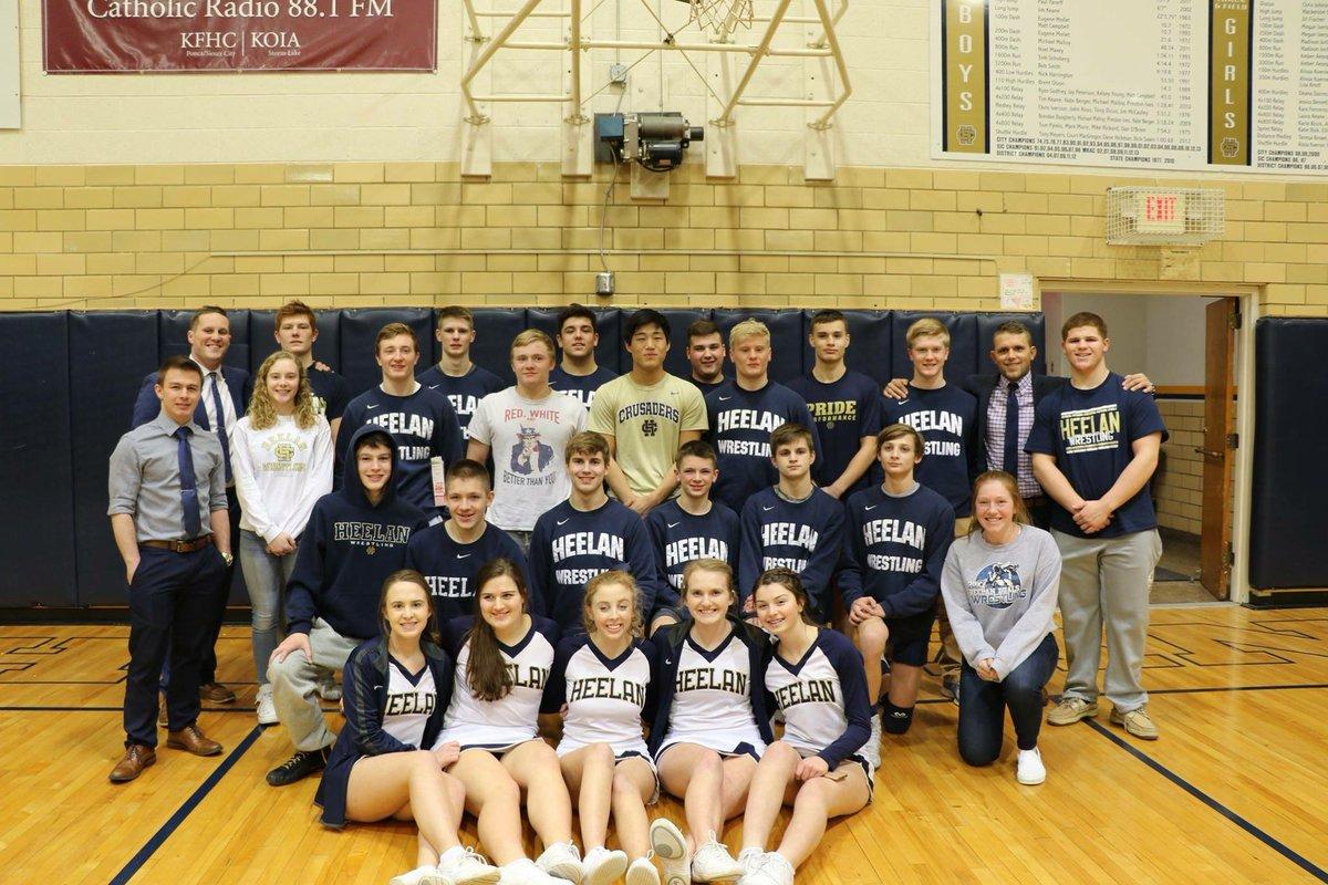 Trường trung học tư thục Heelan Catholic High School - bang Iowa