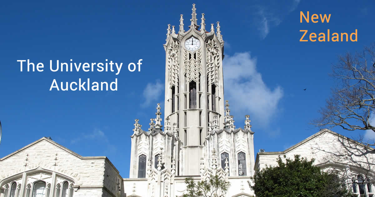 Trường đại học Auckland - University of Auckland