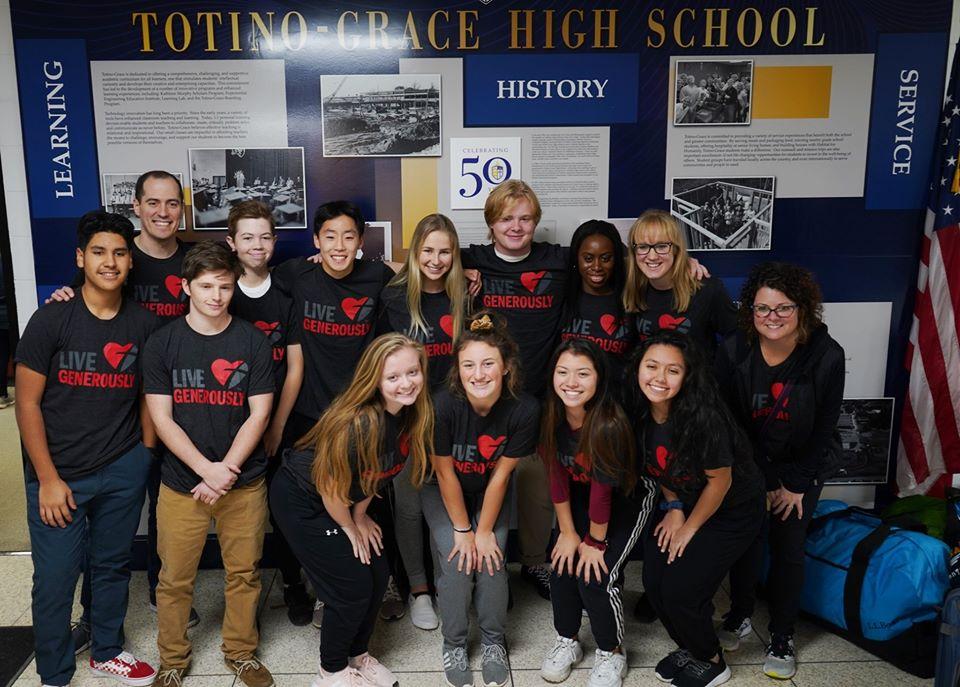 Trường trung học nội trú Totino - Grace High School - Bang Minnesota (GE)
