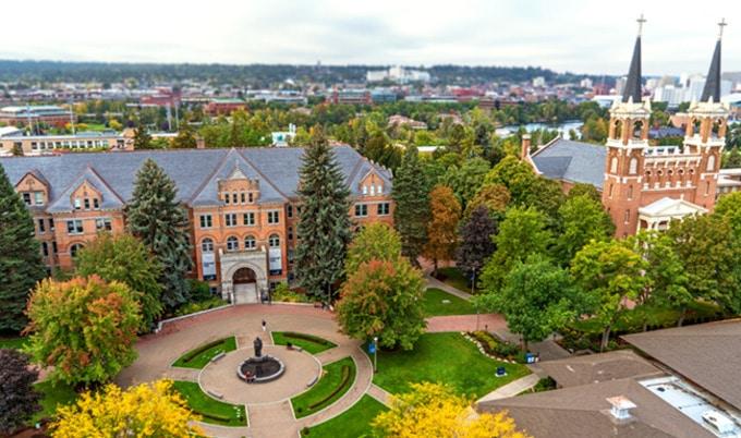 Trường đại học Gonzaga - Gonzaga University - bang Washington